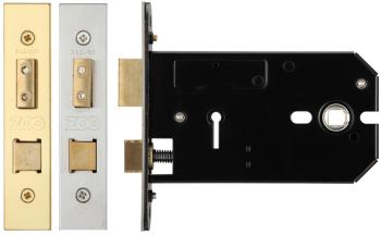Zoo Horizontal 3 Lever Door Lock
