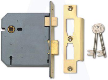 Union 3 Lever Sash Lock 2277 (4 inch)