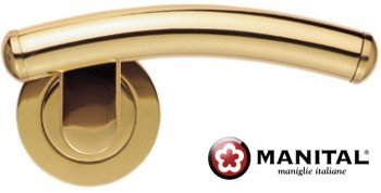 Esprit 2 Brass Door Lever