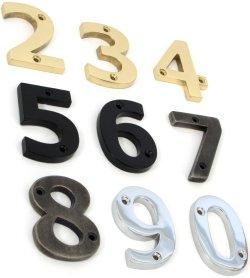 Tahoma Bold 3 inch Door Numbers