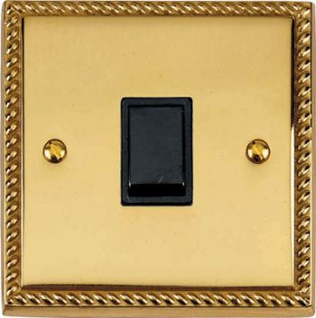 Brass Georgian Light Switches