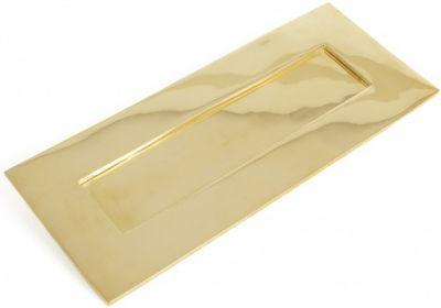 Unlacquered Brass Letterplate