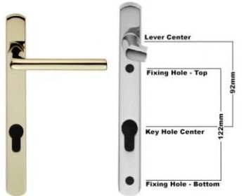 uPVC Door Handle Series 010