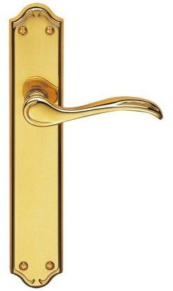 Madrid PVD Brass Door Handles