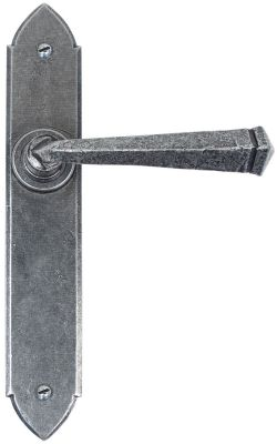 Pewter Gothic Door Handles