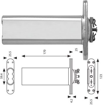 Perkomatic Type Door Closer