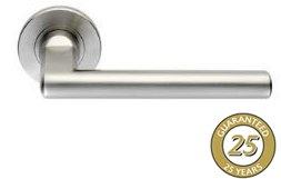 Steel Series Lever Door Handles 120