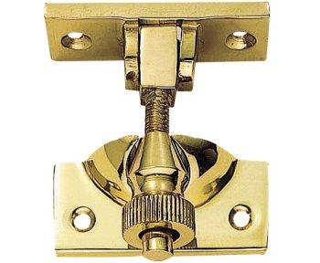 Brass Brighton Sash Fastener