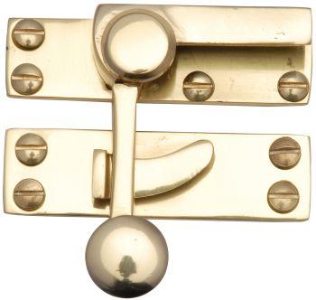 Brass Quadrant Fastener