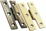 H Pattern Brass Cabinet Hinges