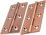 Copper Cabinet Hinges