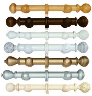 Modern Country Curtain Poles