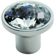 Round Set Crystal Cupboard Knob