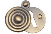 Heritage Brass Reeded Escutcheon