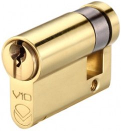 10 pin Security Euro Single Cylinder