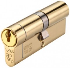 Anti-Snap 6 pin Euro Double Cylinder Locks