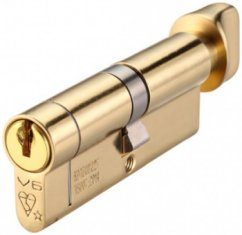 Anti-Snap 6 pin Euro Cylinder & Turn Locks