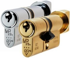 3 Star Security Euro Cylinder & Turn