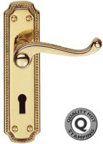Regency Brass Door Handles