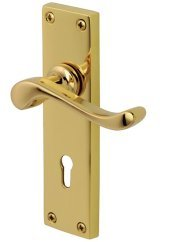 Bedford PVD Brass Door Handles