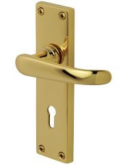 Windsor PVD Brass Door Handles