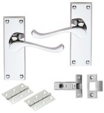 Contract Victorian Latch Pack Door Handles