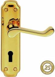Birkdale PVD Brass Door Handles