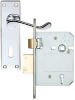 Contract Front Door Lock Handle Set
