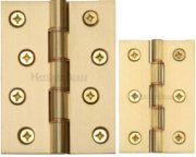 DPBW Satin Brass Hinges