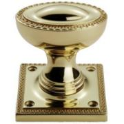 Delamain PVD Greek Key Door Knobs (pair)