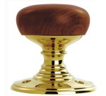 Delamain Walnut Door Knobs (pair)