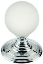Frosted Glass Door Knobs