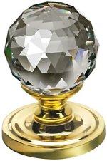 Swarovski Faceted Crystal Door Knobs