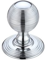 Fulton and Bray Reeded Door Knobs