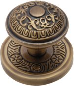Antique Brass Aydon Door Knobs