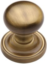 Antique Brass Hampstead Door Knobs