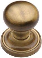 Antique Brass Hampstead Door Knobs