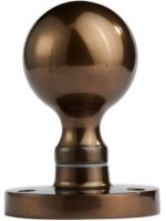 Dark Bronze Ball Door Knobs