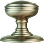 Delamain Satin Nickel Plain Door Knobs
