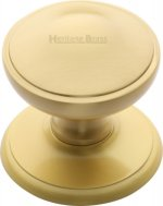 Satin Brass Centre Door Knob
