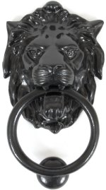 From The Anvil Lion Door Knocker