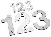 Stainless Steel Door Numbers