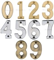 Marcus Bold 3 inch Door Numbers