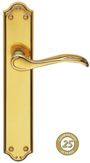 Madrid PVD Brass Door Handles