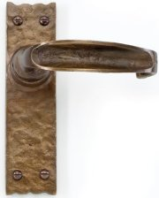 Bronze Traditional Door Handles