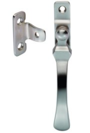 Satin Nickel Wedge Casement Fastener