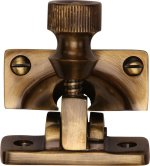 Antique Brass Brighton Sash Fastener
