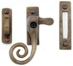 Bronze Locking Curly Tail Fastener
